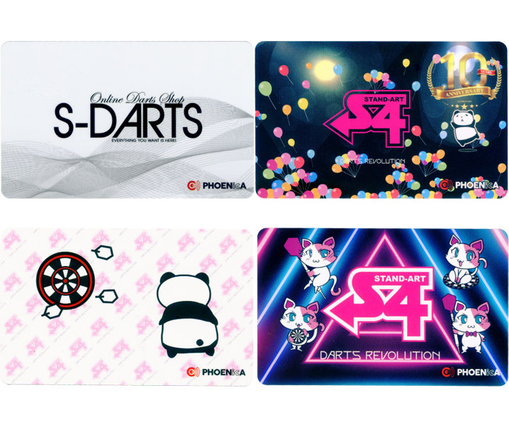 DARTS CARD【PHOENIX x S-DARTS】S-DARTS LOGO with Limited Style